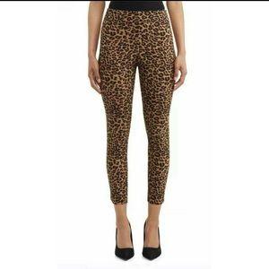 Time & Tru size 4 leopard print pants New